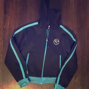 Puma hoodie with front zipper